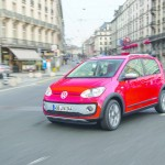 Volkswagen Cross Up 2013 in Rot
