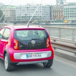Volkswagen Cross Up in der Heckansicht