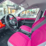 Das Interieur des Volkswagen Cross Up