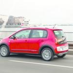Volkswagen Cross Up in der Seitenansicht