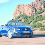 2013er Volkswagen Golf R Cabrio Exterieur Bilder