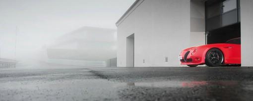 2013er Wiesmann GT MF4-CS - die Frontpartie