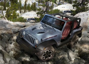 Jeep-Wrangler Rubicon 10th Anniversary Edition im Gelände