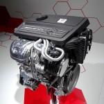 Der neue 360 PS AMG Motor des Mercedes-Benz A45 AMG