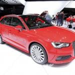 der A3 Sportback E-Tron auf der Genfer Automobilmesse 2013