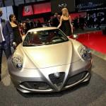 Alfa Romeo 4C in der Frontansicht - Genfer Auto-Salon 2013