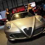 Vorstellung des Alfa Romeo 4C auf dem Genfer Autosalon 2013