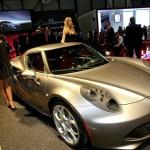 Präsentation des Alfa Romeo 4C auf Genfer Autosalon 2013