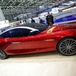 Alfa Romeo Gloria Concept in der Seitenansicht - Genfer Automobilsalon 2013