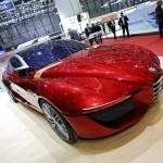Präsentation des Alfa Romeo Gloria Concept auf Genfer Autosalon 2013