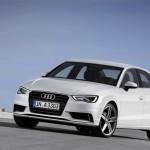 Audi A3 als Limousine in der Frontansicht