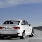 Die Heckpartie de neuen Audi A3 Limousine