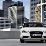 Die Frontpartie des Audi A3 Limousine 2013