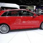 Audi A3 Sportback E-Tron auf der 2013-er Genfer Automesse