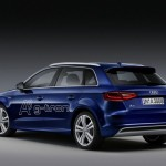 2013-er Audi A3 Sportback G-Tron in der Heckansicht