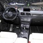 Das Armaturenbrett des Audi RS Q3