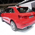 Präsentation des Audi RS Q3 auf Genfer Autosalon 2013