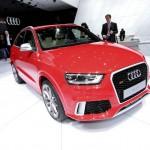 Audi RS Q3 in der Frontansicht - Genfer Auto-Salon 2013