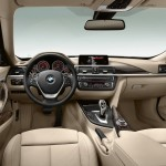 Das Armaturenbrett des BMW 3 Gran Turismo