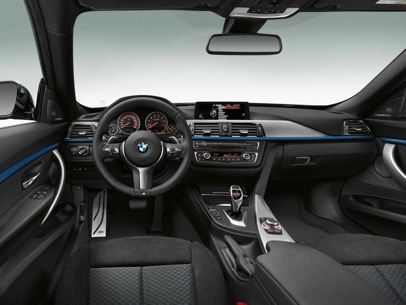 Das Cockpit des BMW 3 Gran Turismo