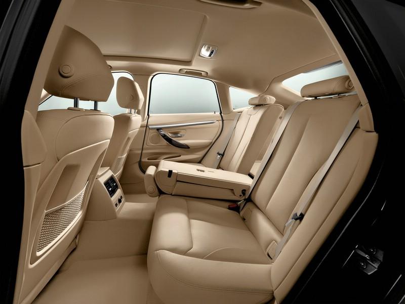 Die hinteren Sitze des BMW 3 Gran Turismo