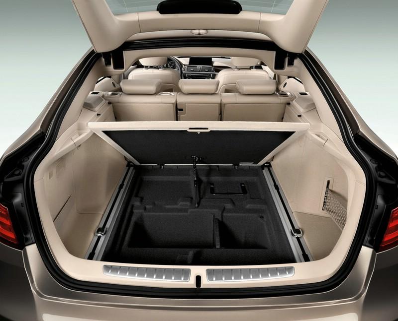 Der Kofferraum des BMW 3 Gran Turismo