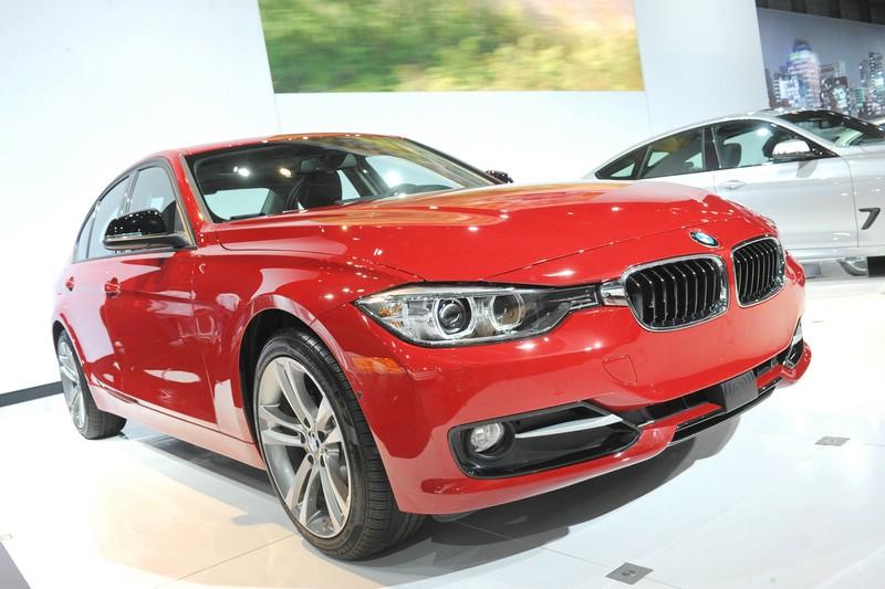 Der neue BMW 328d F30 auf der New York Auto Show 2013