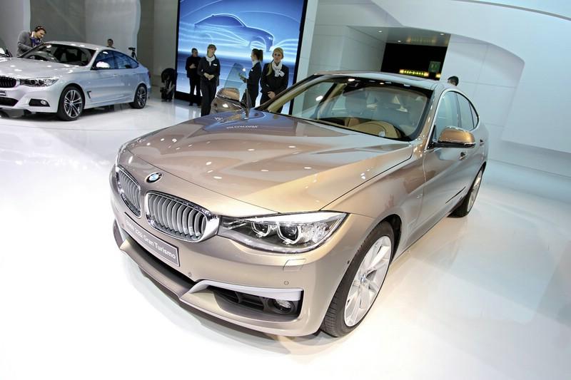 BMW stellt in genf den neuen 3er Gran Turismo vor