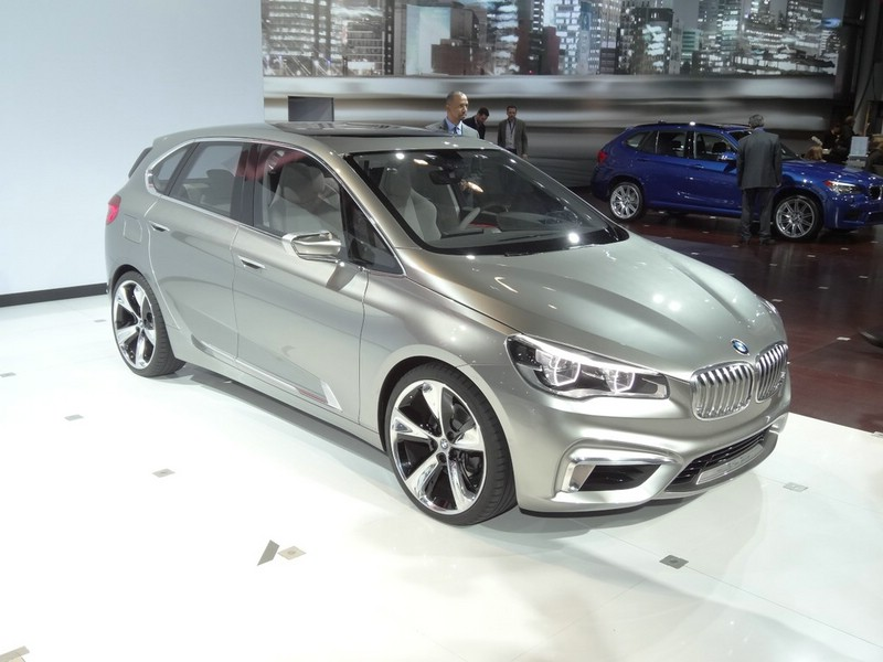 BMW-Studie Active Tourer auf New Yorker Automesse 2013