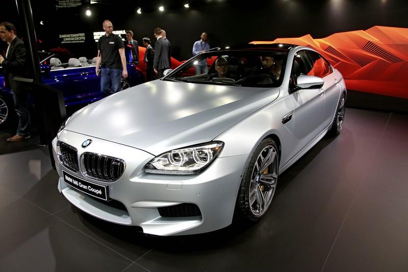 BMW M6 Gran Coupe auf der Messe in Genf