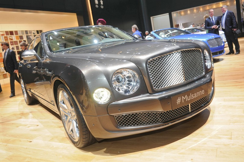 Vorstellung des überarbeiteten Bentley Mulsanne auf dem Genfer Autosalon 2013