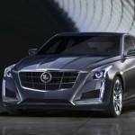 Die Frontpartie des neuen Cadillac CTS