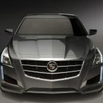 Der Kühlergrill des 2014er Cadillac CTS