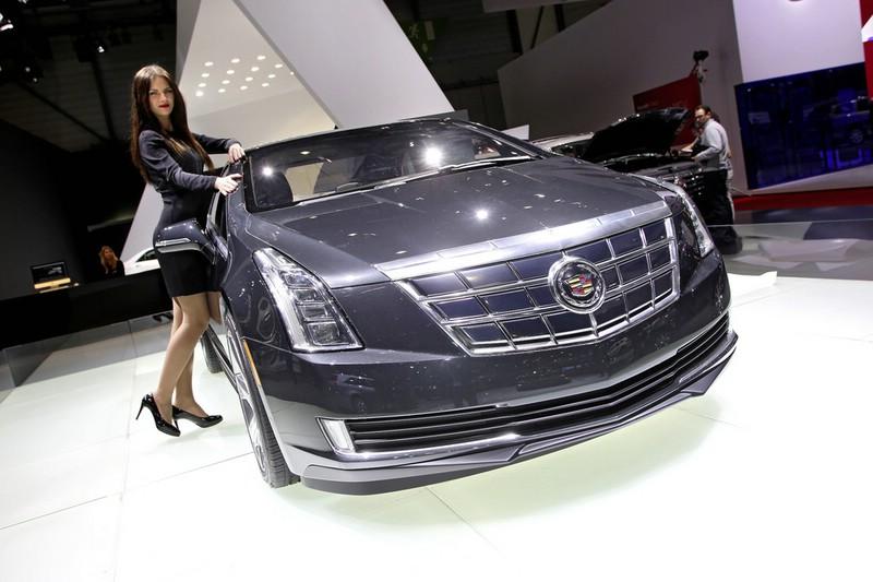 Cadillac ELR auf dem Genfer Automobilsalon 2013