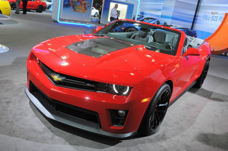 Chevrolet präsentiert in New York den Camaro ZL1