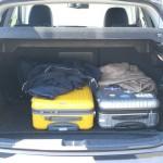 Der Kofferraum des Citroen C4 Aircross HDi 150 2WD