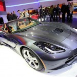 Corvette Stingray Cabriolet in der Frontansicht - Genfer Auto-Salon 2013