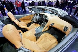 Der Innenraum des Corvette Stingray Cabriolet