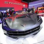 Präsentation des Corvette Stingray Cabriolet auf Genfer Autosalon 2013