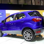 Ford Ecosport in der Heckansicht - Genfer Autosalon 2013