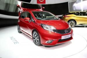 Nissan Note auf Autosalon Genf 2013