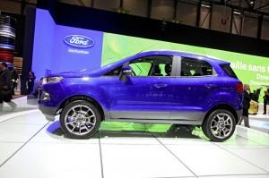 Ford Ecosport in der Seitenansicht - Genfer Automobilsalon 2013