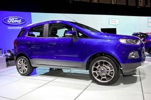 Präsentation des Ford Ecosport auf Genfer Autosalon 2013