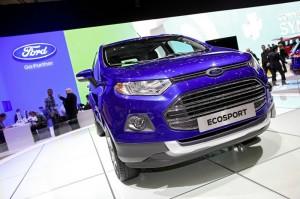 Ford Ecosport in der Frontansicht - Genfer Auto-Salon 2013