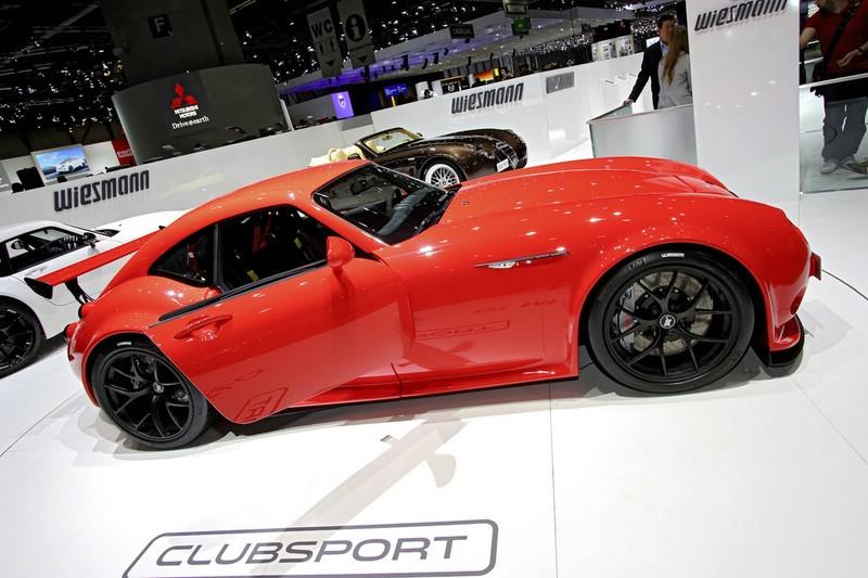 Wiesmann GT MF4-CS auf dem Genfer Automobilsalon 2013