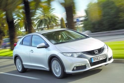 Honda Civic mit dem neuen 1.6 i-DTEC Dieselmotor