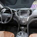 Das Interieur des neuen Hyundai Grand Santa Fe