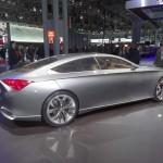 Hyundai HCD-14 Genesis Auftritt auf der Motorshow in New York