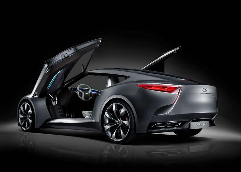 Hyundai-Studie HND-9 mit Flügeltüren