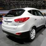 Hyundai ix35 2013/2014 in der Heckansicht